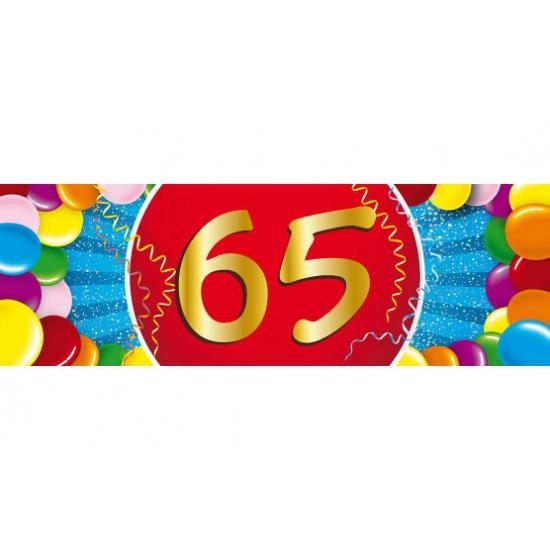 65 jaar sticker