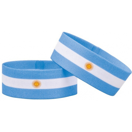 Argentinie fan armbandje