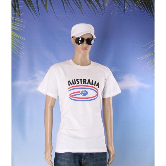 Australie vlaggen t shirts voor heren