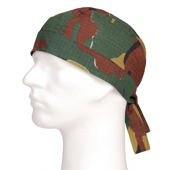 Bandana in camouflage print