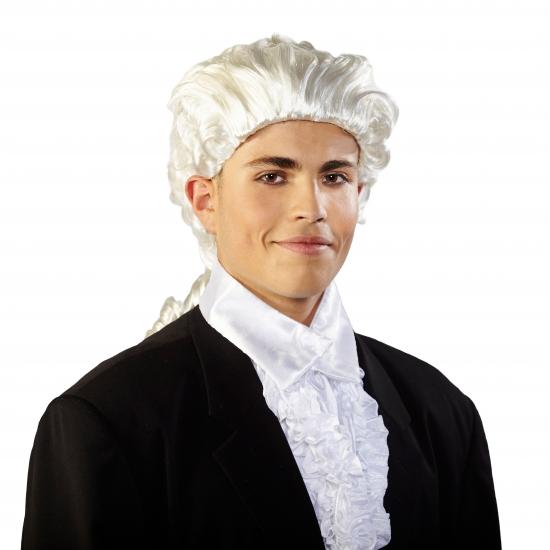 Barok pruik voor heren
