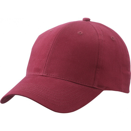 Basic baseball cap bordeaux