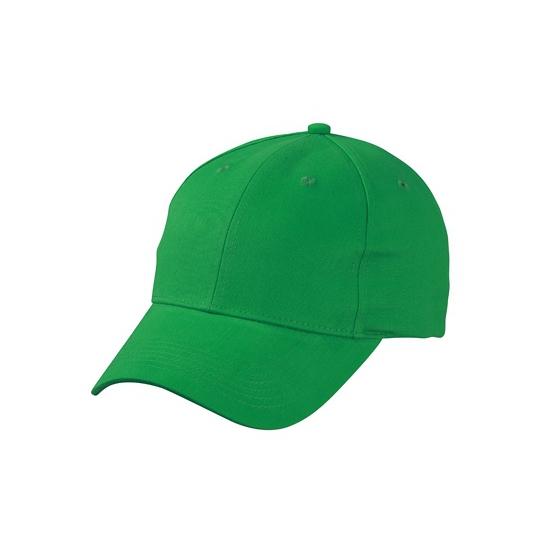 Basic baseball cap grasgroen