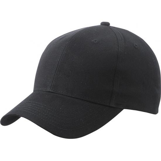 Basic baseball cap zwart