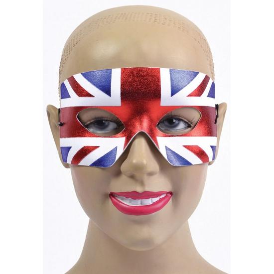Bedrukte oogmaskers Engelse vlag