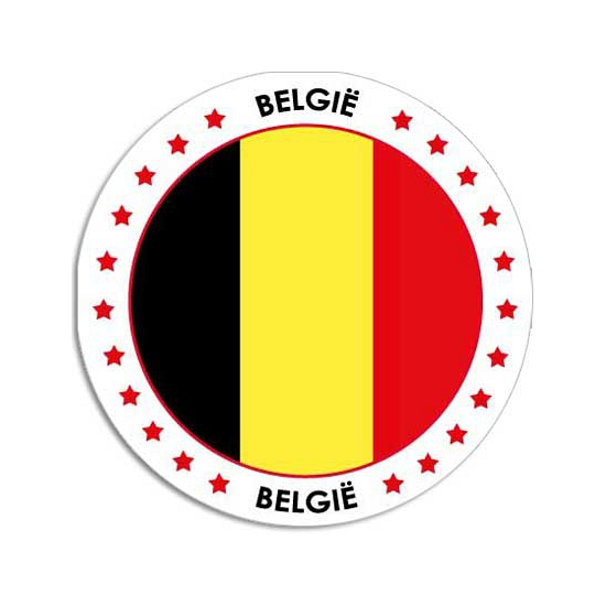Belgie sticker