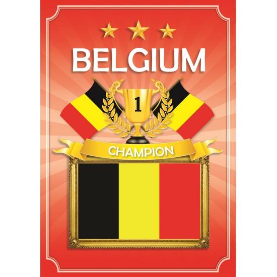 Belgie thema deur posters