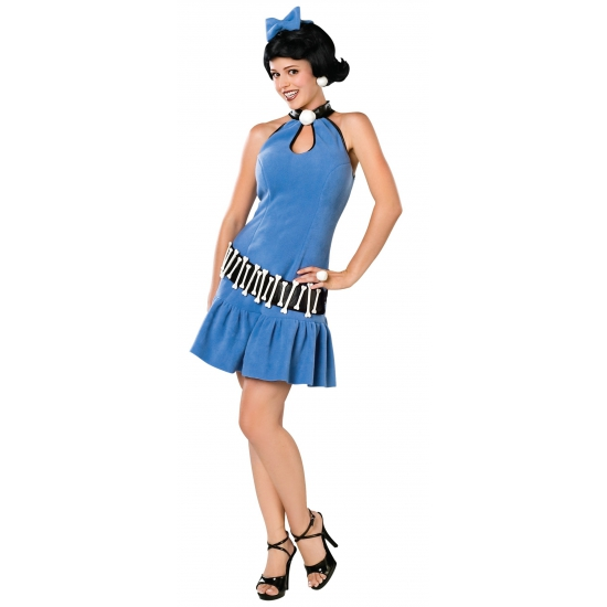 Betty Rubble kostuum voor dames