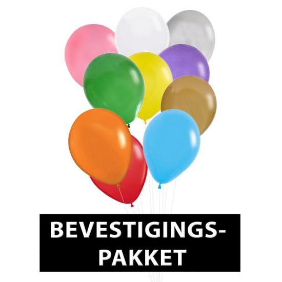 Bevestigingspakket voor ballonnen
