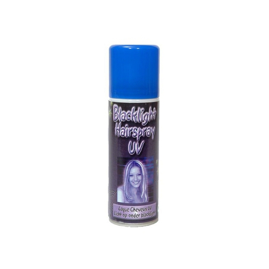 Blacklight haarspray 125 ml