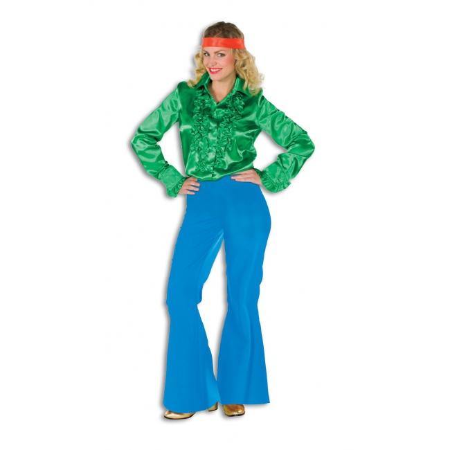 Blauwe broek voor dames