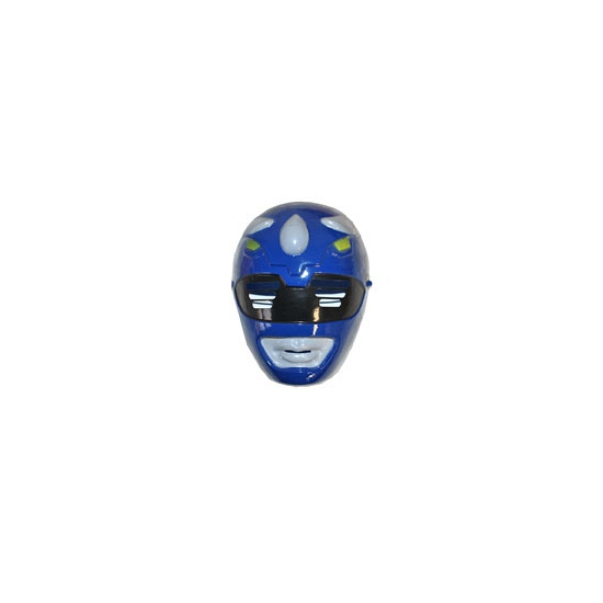 Blauwe Power Rangers maskers