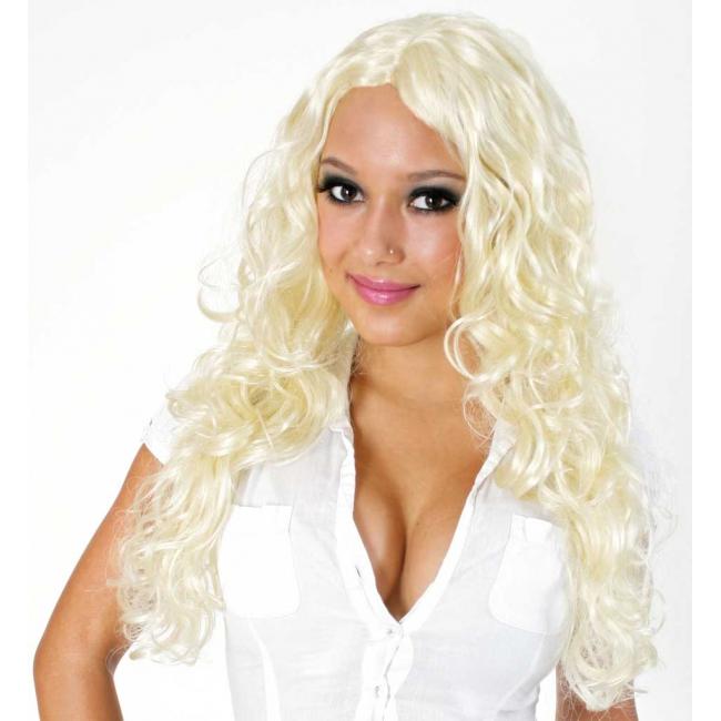 Blonde pruik Britney model