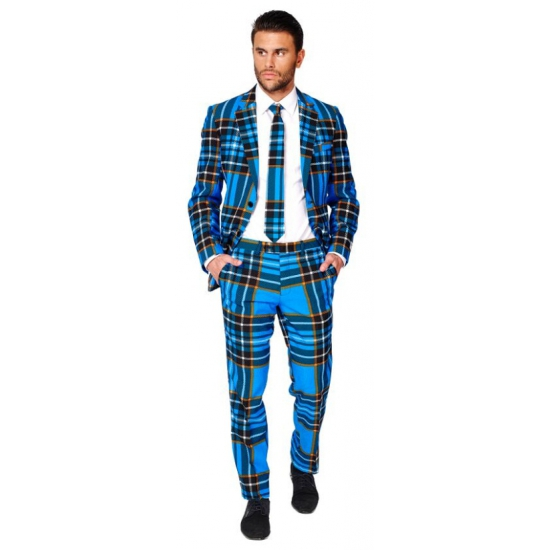 Business suit met Braveheart print