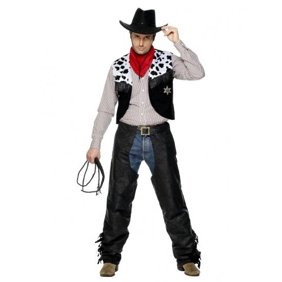 Carnaval Cowboy pak heren