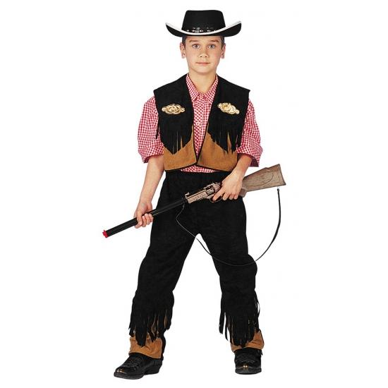 Carnaval Cowboypak voor jongens