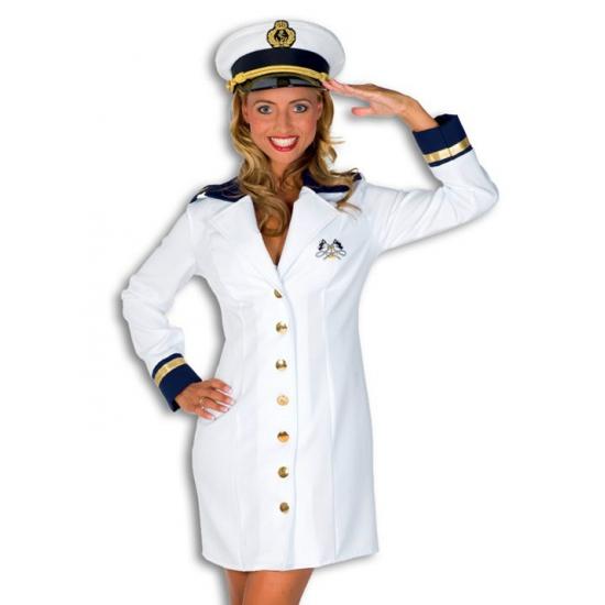 Carnaval Kapitein kostuum dames