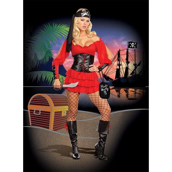 Carnaval piraten jurk voor dames