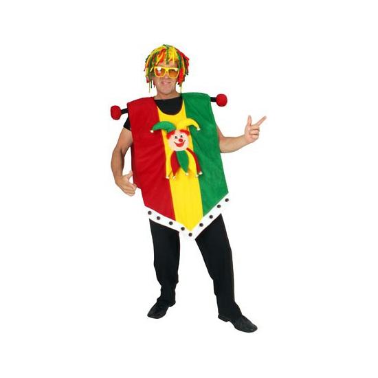 Carnaval vaandel Limburg kostuum
