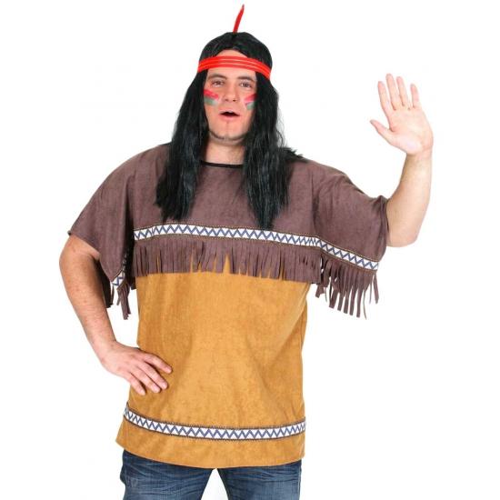 Carnavalskleding indiaan shirt