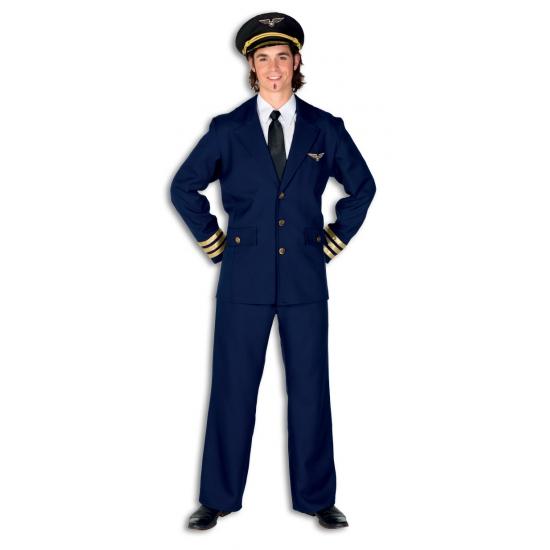 Carnavalskleding piloten heren