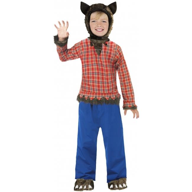 Carnavalskleding Wolfie weerwolf voor kinderen
