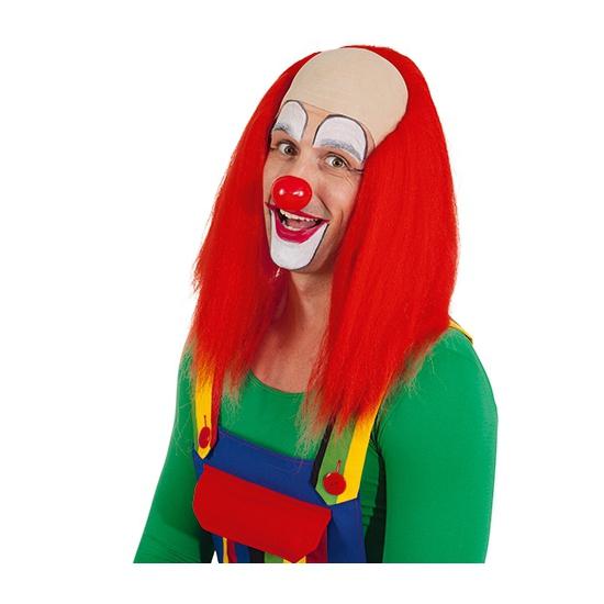 Clowns pruiken met rood haar
