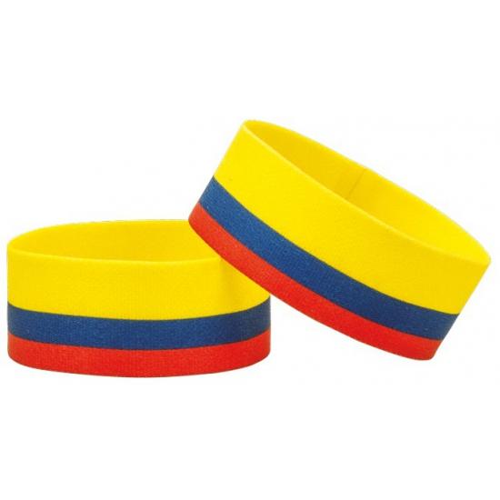 Colombia fan armbandje