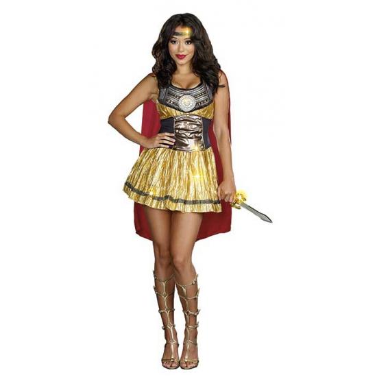 Compleet gladiator kostuum voor dames