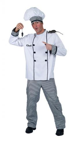 Compleet kok kostuum voor heren