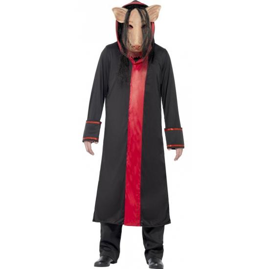 Compleet Saw Pig kostuum