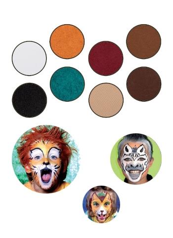 Complete dieren schmink set