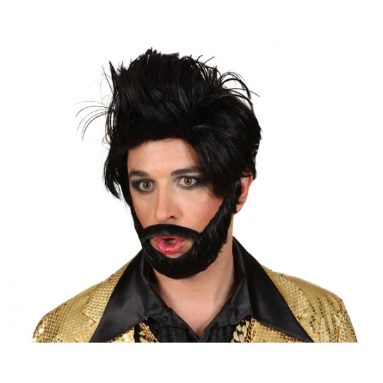 Conchita baard setje zwart