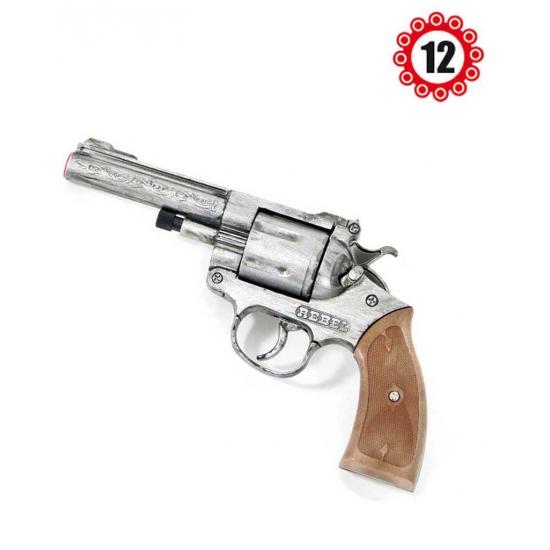 Cowboy revolver antiek 12 shots