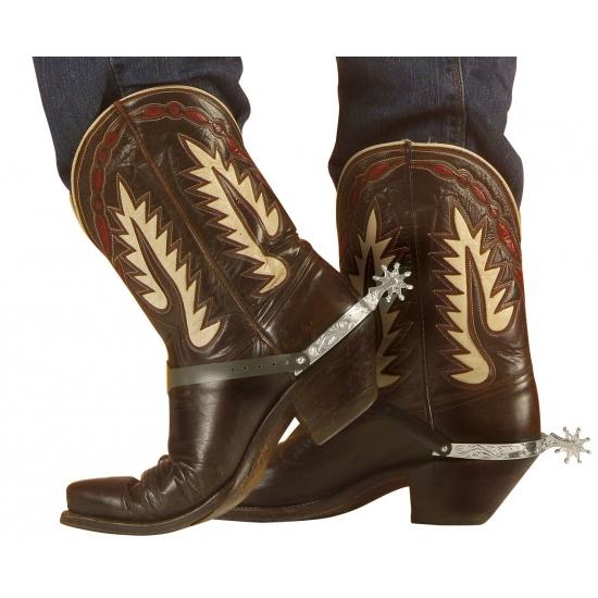 Cowboy sporen zilver