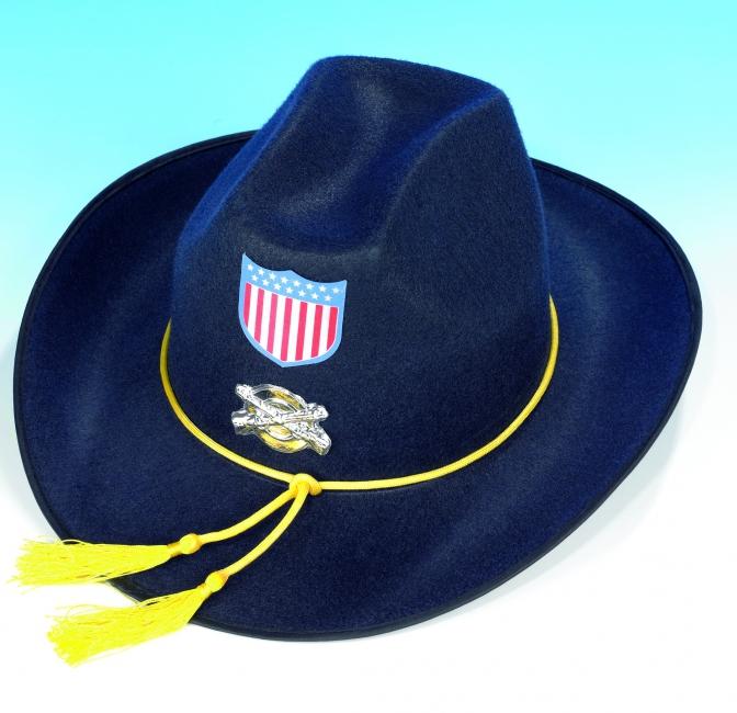Cowboyhoed donkerblauw