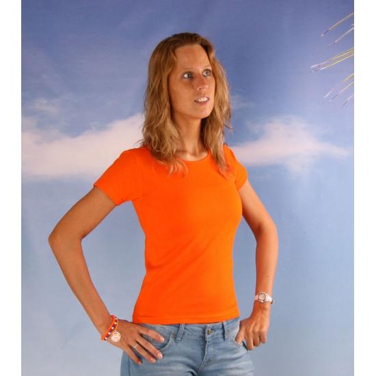 Dames t shirts oranje