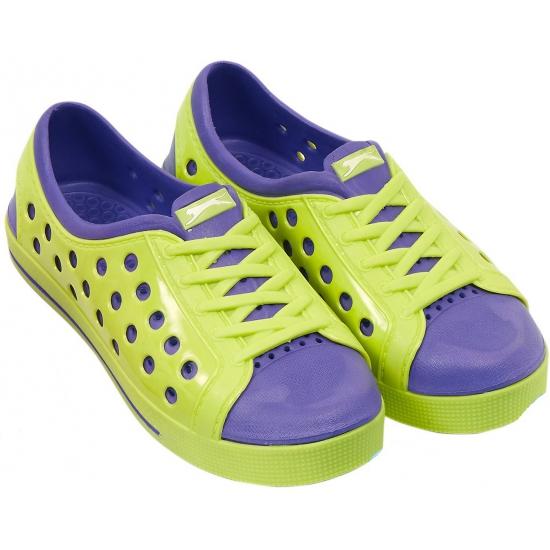 Dames waterschoen van het merk Slazenger in lime/paars