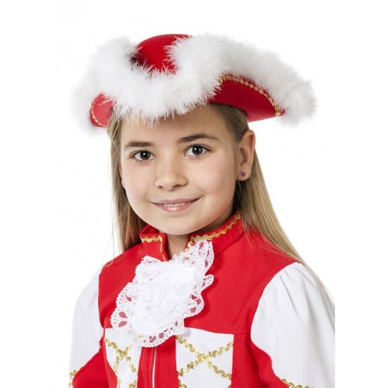 Dansmarieke outfit rood voor meiden