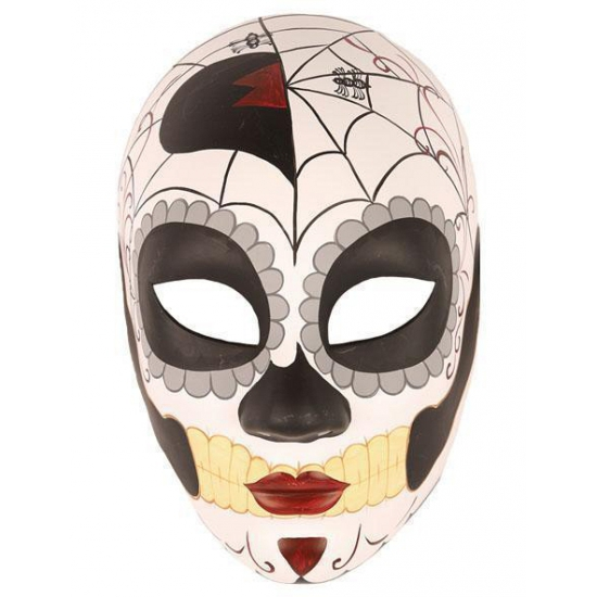 Day of the dead masker vrouw