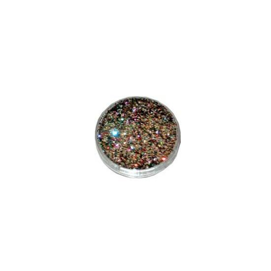 Decoratie materiaal regenboog glitters