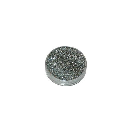 Decoratie materiaal zilveren glitters