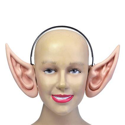 Diadeem met grote puntige oren