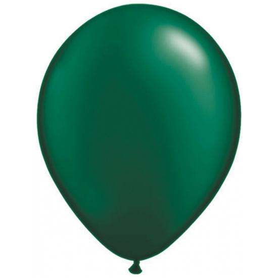 Donkergroene Qualatex ballonnen