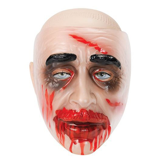 Doorzichtige maskers zombie
