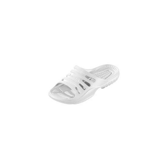 Douche slippers wit voor heren