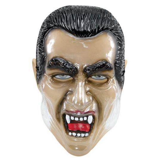 Dracula maskers transparant