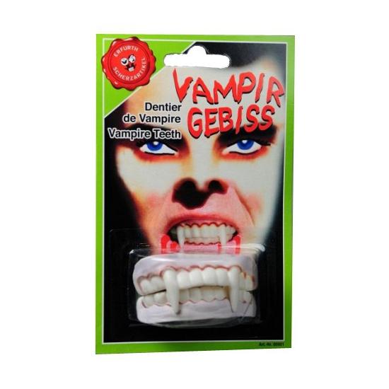 Dracula tanden extra lang