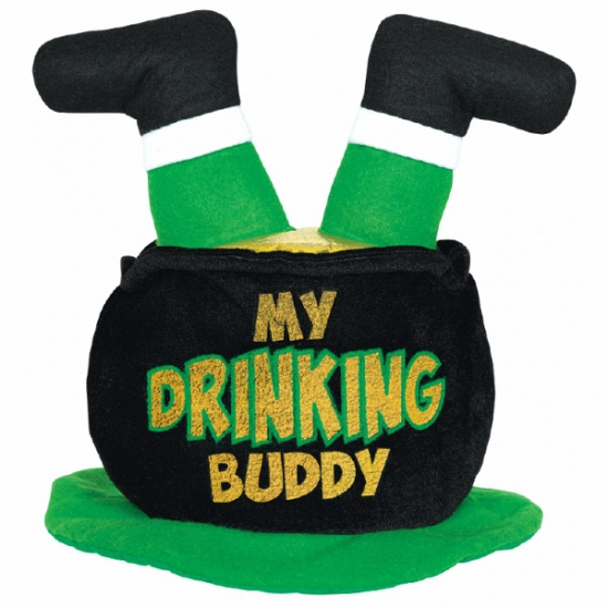 Drinking buddy St  Patricks Day hoed