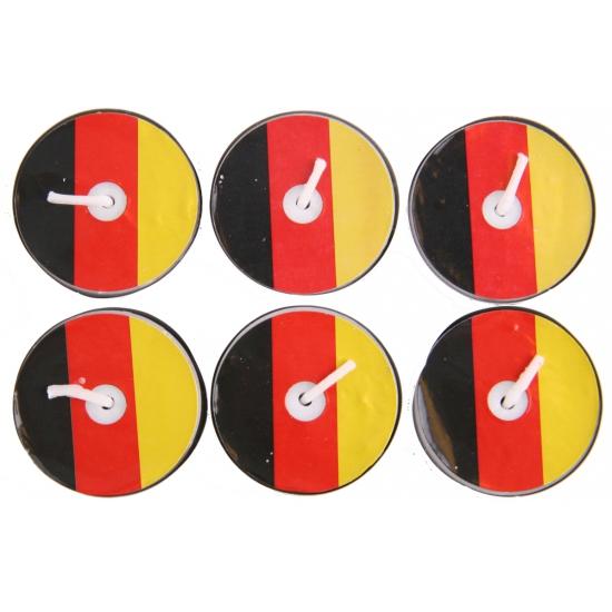 Duitsland waxinelichtjes 6 stuks